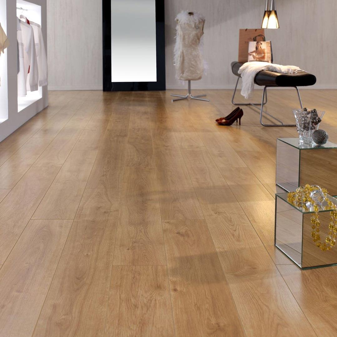 Oak Laminate Flooring Kitchen: Retro Oak FINfloor Original Laminate Flooring