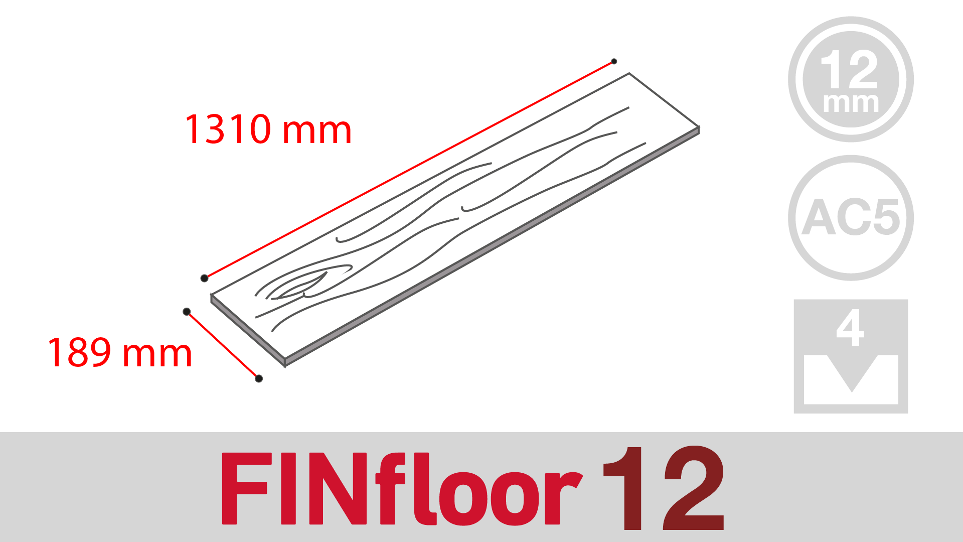 FINfloor 12 (12mm Bevelled)