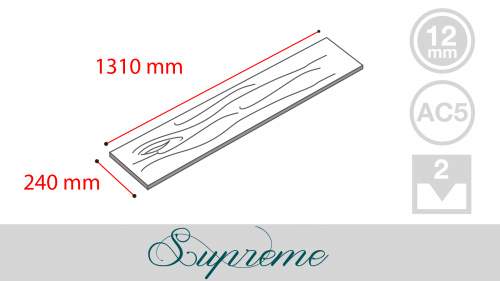 Supreme (8mm Wide Plank)